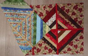 Dubbelzijdige quilt