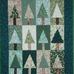 Kerst quilt beschrijving met de hand , Rita Bos